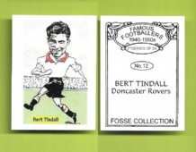 Doncaster Rovers Bert Tindall 12 (FC)